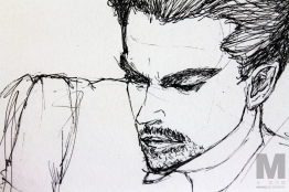 Discarded Dicaprio Sketch, 2014