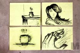 Random Meeting Sketches, 2013