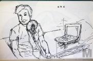 Ryan Haywood Sketch, 2015